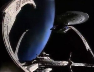 Enterprise at DS9