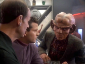 Quark sticks up for Odo