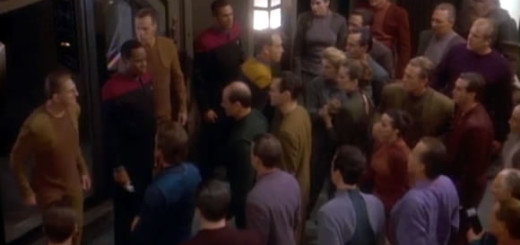 Odo confronts the mob