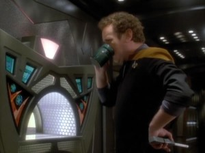 Coffee time for O'Brien