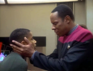Sisko and son