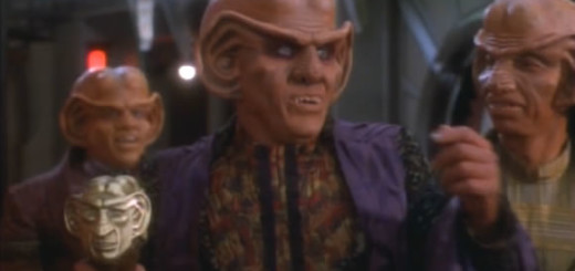 Quark enjoys being the Grand Nagus