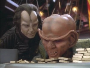 Ah-Kel confronts Quark