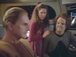 Odo, Croden's daughter, and Croden