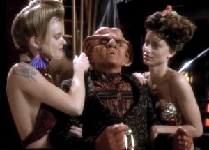 Quark and his fantasy ladies